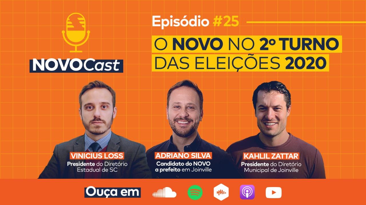 NOVOCast #25 do segundo turno das eleições está no ar!