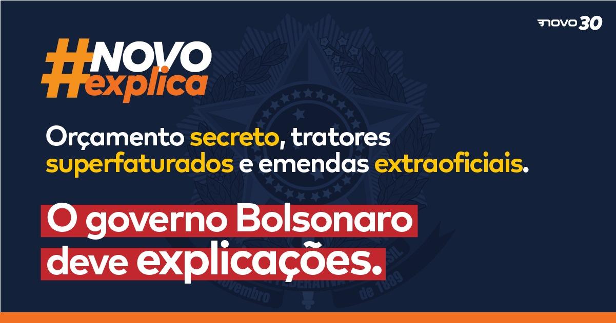 Orçamento secreto, tratores superfaturados e emendas extraoficiais. O governo Bolsonaro deve explicações