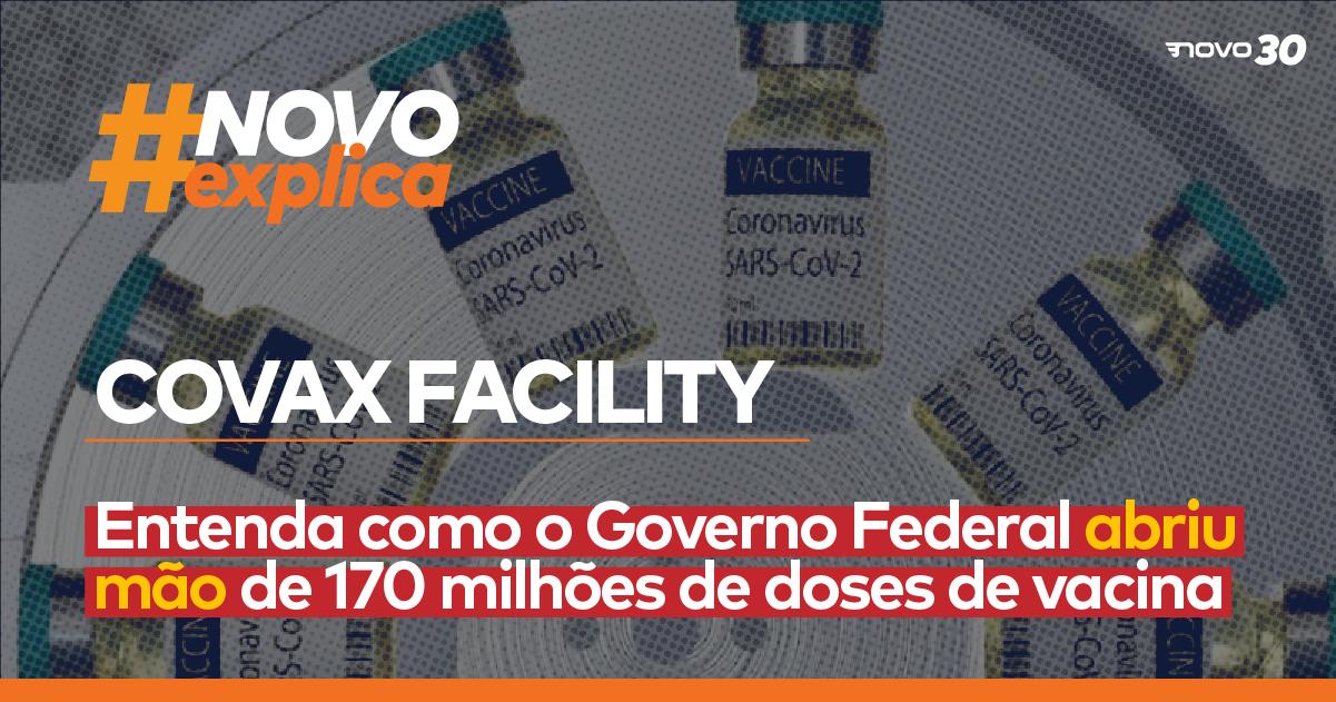 Covax Facility: Entenda como o Governo Federal abriu mão de 170 milhões de doses de vacina