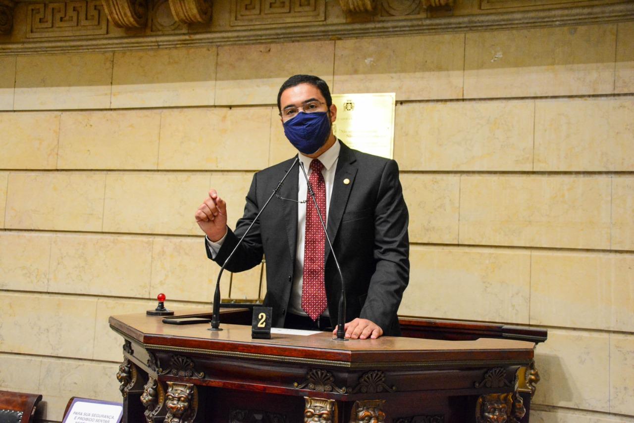Pedro Duarte protocola o Estatuto de Desburocratização na Câmara do RJ